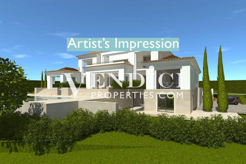 LARGE PLOT in Quinta Do Lago with Lake views